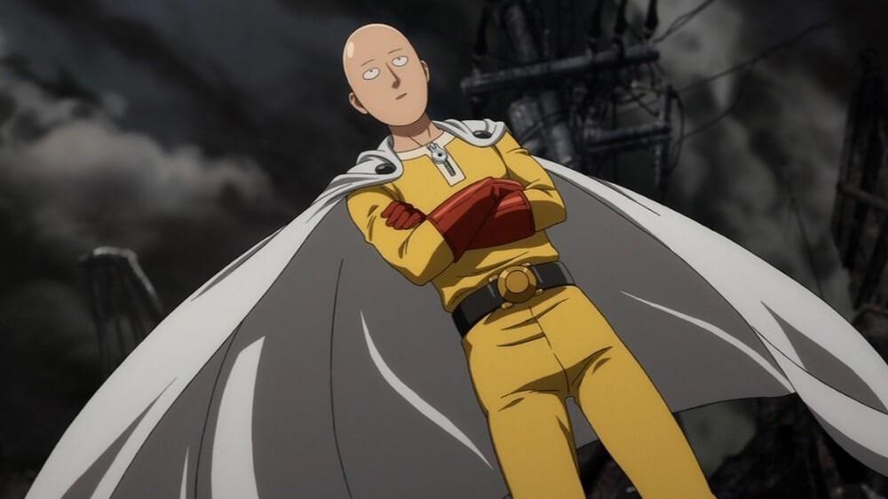 主人公のサイタマ。出典:ONE・村田雄介『ワンパンマン』