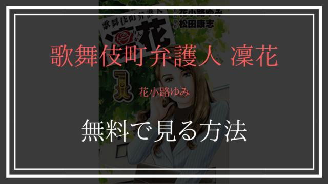 歌舞伎町弁護人 凜花